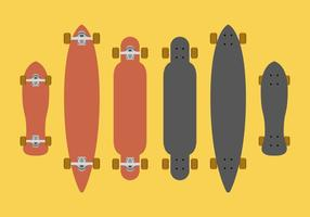 Vetor longboard