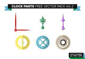 Peças de relógios Pacote de vetores grátis Vol. 2