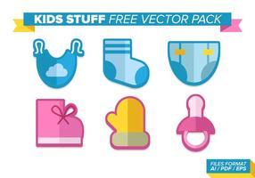 Pacote de vetores grátis de coisas para crianças