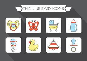 Elementos do vetor do bebê