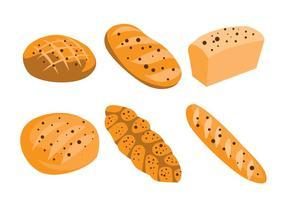 Vetores de pão de passa