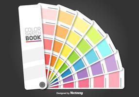 Swarches de cores vetoriais vetor