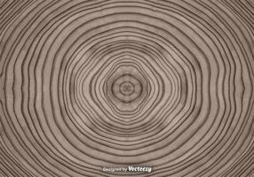 Fundo abstrato de anéis de árvores vetoriais vetor