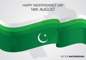 Fundo do Dia do Paquistão vetor