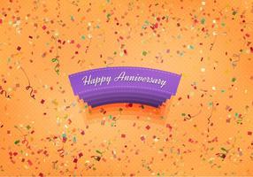 Fundo de aniversário feliz do vetor livre