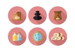 Conjunto de ícones do vetor Spa