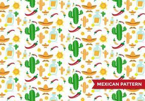 Vetor de padrão mexicano