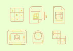Gráfico de vetor livre sudoku 3