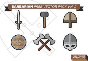 Pacote vetorial livre bárbaro vol. 2 vetor