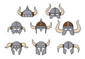 Vetor capacete bárbaro