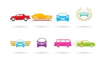 Logos de carro vetor