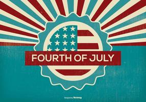 Ilustração da quarta parte de julho