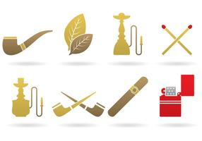 Vetores do logotipo do tabaco