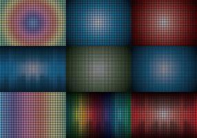 Fundo da tela LED vetor