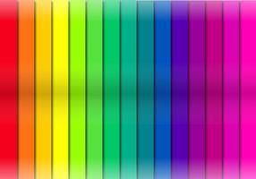 Camadas de corte de fita de cor vetor