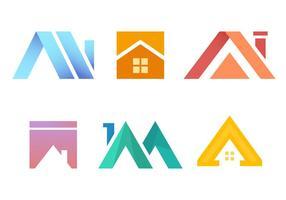 Vetor de telhados gratuitos 3