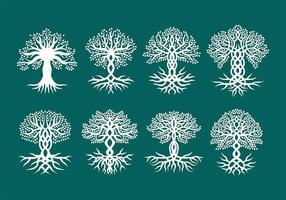 Vetores de árvores celtas
