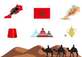 Vector Livre de Marrocos