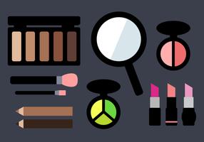 Vector de maquiagem grátis