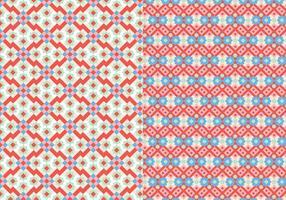 Padrão de mosaico de pontos vetor