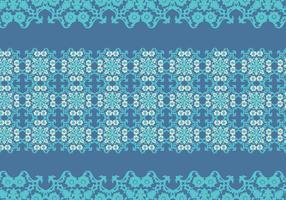 Vector de padrão de azulejo português