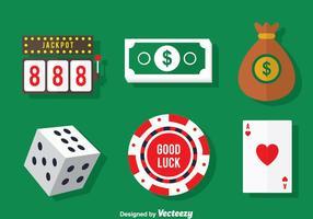 Vector do Elemento do Casino