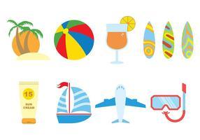 Vetor de ícone de praia 3