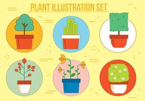 Ilustração vetorial de planta livre vetor