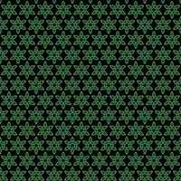 padrão de nó celta preto verde sem costura vetor