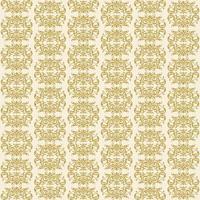padrão sem emenda do damasco de letras grandes em ouro