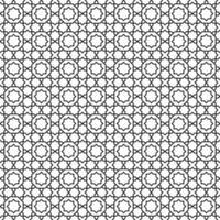 padrão geométrico de telha marroquina decorativa sem costura vetor