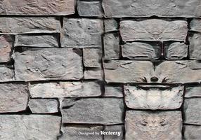 Textura do vetor do muro de pedra