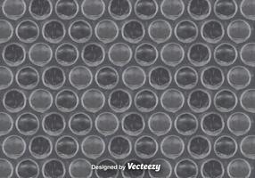Grey Bubble Wrap Background Vector