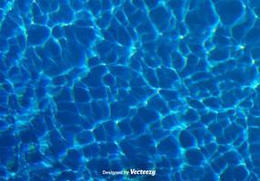 Textura realista da água do vetor