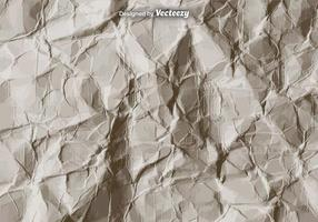 Textura de papel amassada com vetor