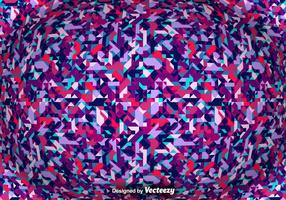 Fundo abstrato do vetor com formas geométricas