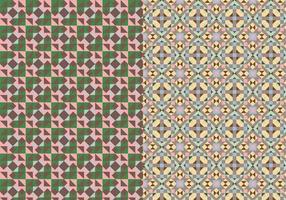 Padrão abstrato de mosaico vetor