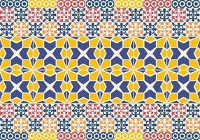 Padrão de azulejo português vetor