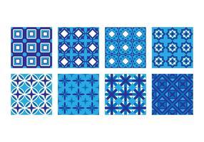 Vector de padrão de azulejos portugueses grátis