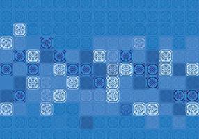 Composição Portuguesa do Azulejo vetor
