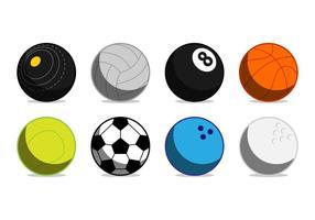 Vetor de ícone de bola de esportes grátis