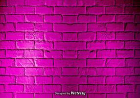 Textura rosa da parede de tijolo do grunge do vetor