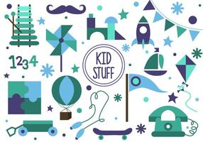 Vector Gratuito Kid Stuff