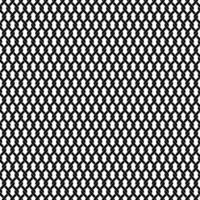 padrão sem emenda de treliça de elo de corrente preto vetor