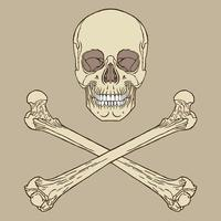 desenho de sinal de pirata vetor