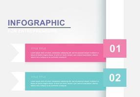Infografia de fita simples vetor
