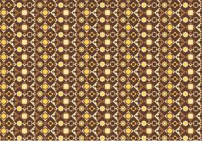 Padrão de mosaico amarelo vetor