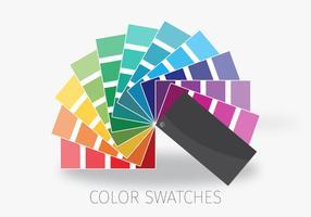 Tabela de cores vetor