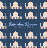 Ramadan kareem vetor