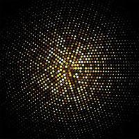 partículas douradas brilhantes para projetos festivos